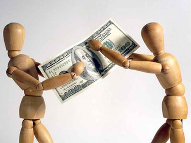 споры на деньги